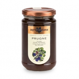 Confettura extra di Prugne, 350 gr - Agrimontana