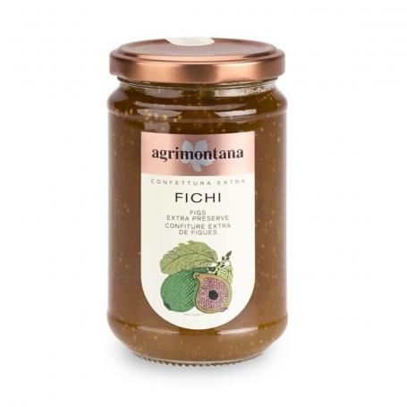 Extra Jam Fig, 350 gr. - Agrimontana