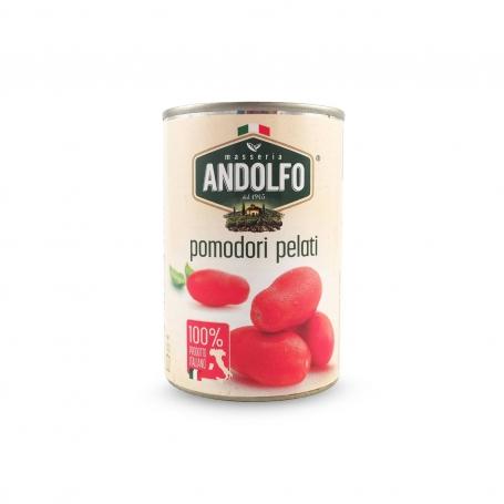 Pomodori pelati, 400 gr - Masseria Andolfo