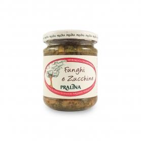 Condimento di funghi e zucchine, 180 gr - Pralina