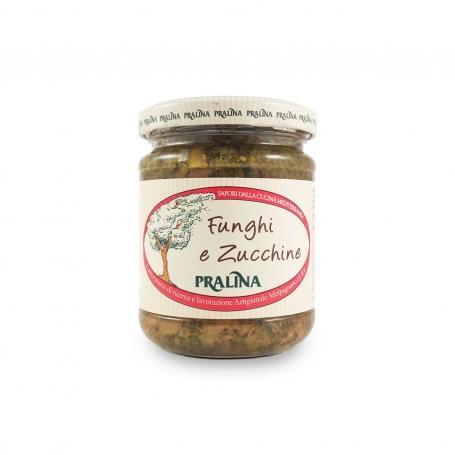 Seasoning mushrooms and zucchini, 180 g - Praline