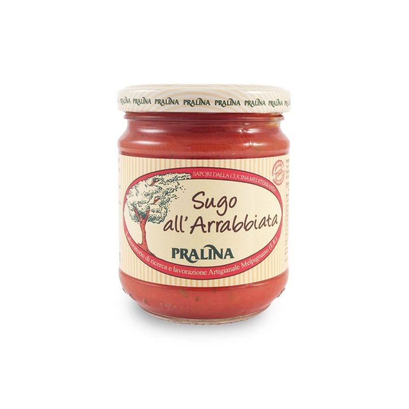 Sugo all 'angry, 180 gr - Praline