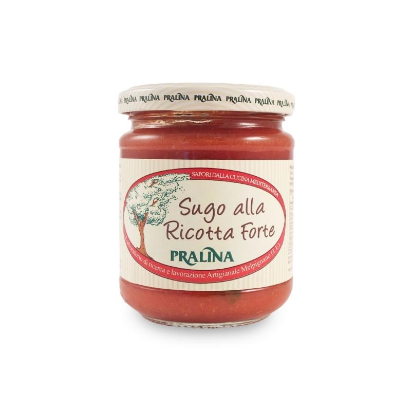 Sauce with ricotta, 180 gr - Praline