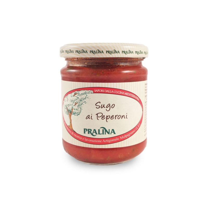 Tomato sauce with peppers, 180 gr - Praline