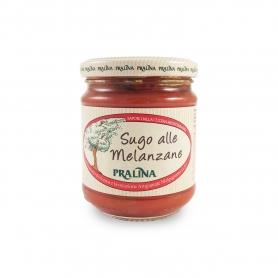 Sauce tomate aux aubergines, 180 gr - Praline