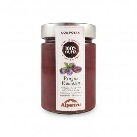 Composta di prugne ramasin, 350 gr - Alpenzu
