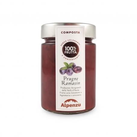 Ramasin Plum compote, 350 gr - Alpenzu