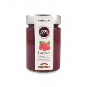 Composta di lamponi, 350 gr - Alpenzu
