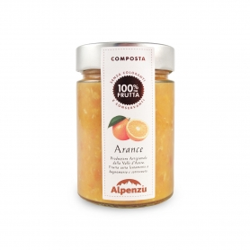 Orange compote, 350 gr - Alpenzu