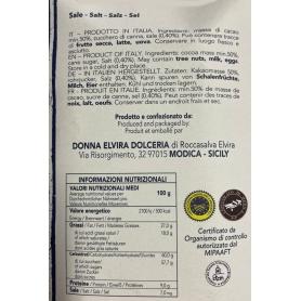 Modica IGP chocolat salles Mirroir de la Bolivie, tablette 70 gr - Donna Elvira