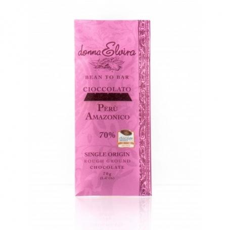 Single-Herkunft Schokolade Peru, 70gr Tablette - Donna Elvira - Tavolette di cioccolato