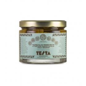 Ventresca di tonno rosso in olio EVO, 620 gr - Testa Conserve