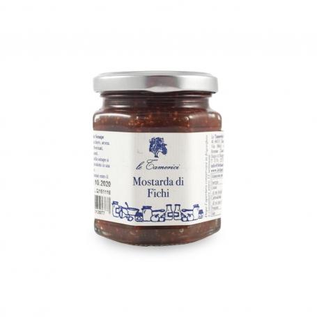 Mustard figs, 220 gr. - Le Tamerici