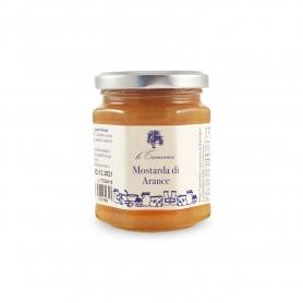Oranges de moutarde, 220 gr. - Le Tamerici