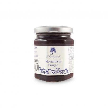 Moutarde prune, 220 gr - Le Tamerici