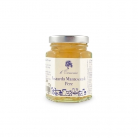 Mustard of pears, 120 gr. - Le Tamerici