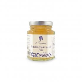 Mantovana Mustard of pears, 120 gr. - Le Tamerici