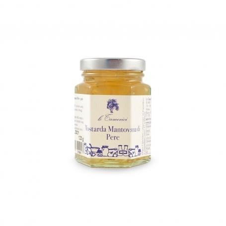 Mustard of pears, 120 gr. - Le Tamerici