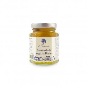 Moutarde melon blanc, 120 gr. - Le Tamerici