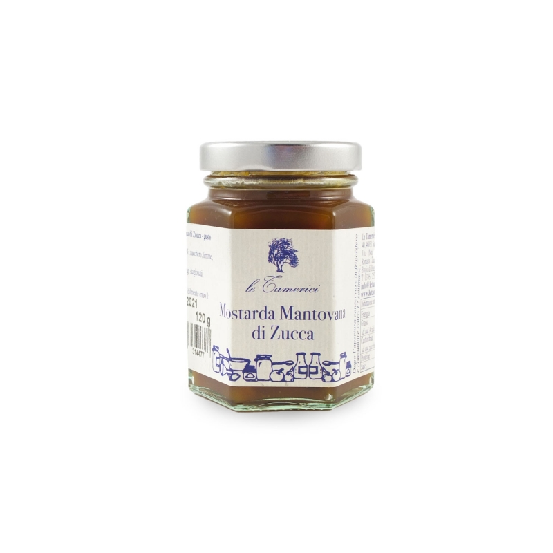 Zucchini Mantovana Mustard, 120 gr. - The Tamerices