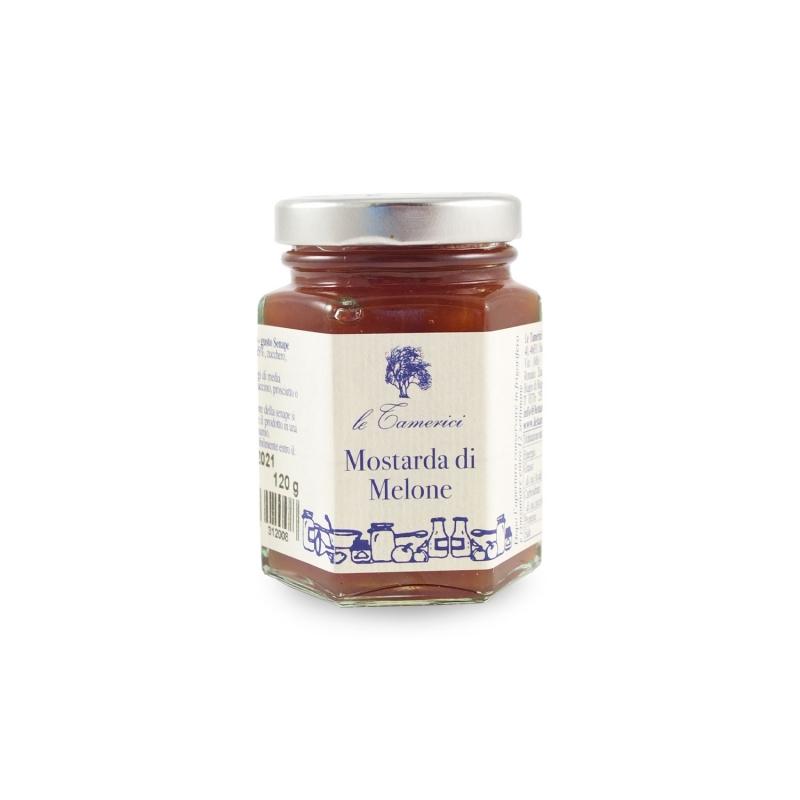Mostarda di Melone, 120 gr. - Le Tamerici