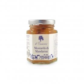 Mandarins mustard, 120 gr. - Le Tamerici