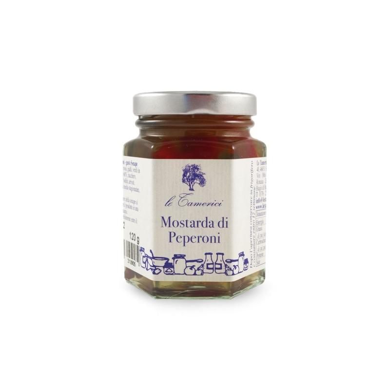 Mustard peppers, 120 gr. - Le Tamerici