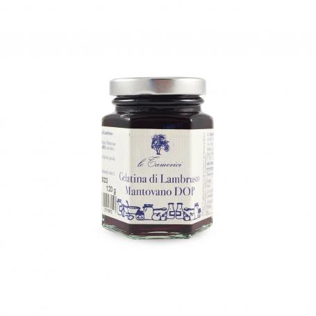Lambrusco Mantovano jelly, 120 gr - Le Tamerici