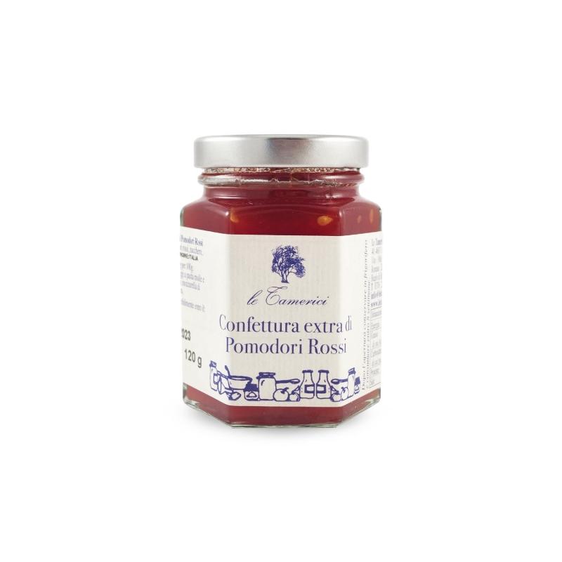 Confettura Extra di Pomodori Rossi, 120 gr. - Le Tamerici