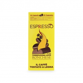 Espresso capsules compatible, box 10 pcs. - Coffee Ronchese