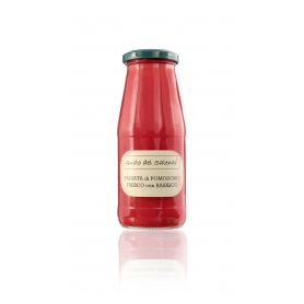 Fresh red tomato sauce with basil, 420 ml - Taste of Salento