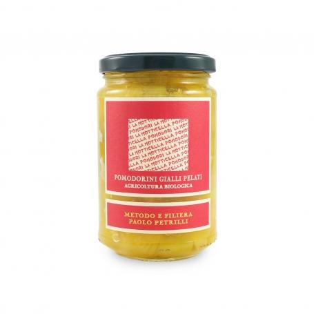 Pomodorini gialli pelati, 300 gr - Paolo Petrilli