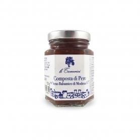 Composta di pere all'aceto balsamico, 120 gr. - Le Tamerici