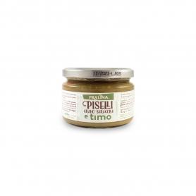 Zuppa di piselli, grano saragolla e timo, 228 gr - Pralina