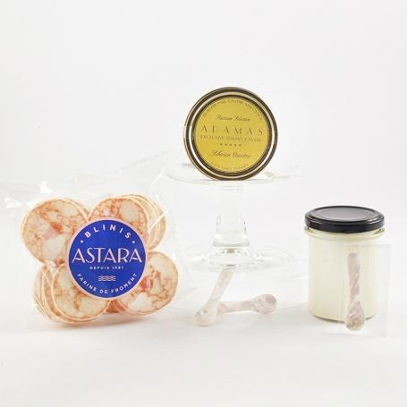 Set Caviale Asetra 100 gr