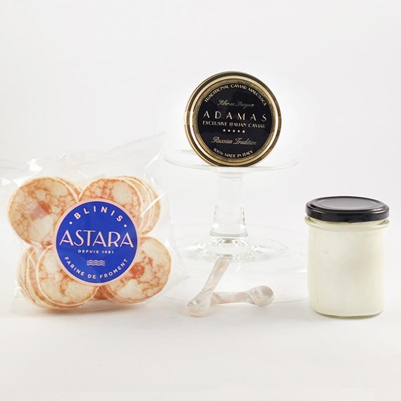 Set Caviale Baeri puro 50 gr