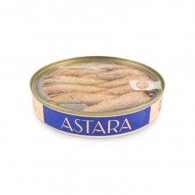 Smoked sprats, 120 gr - Astara