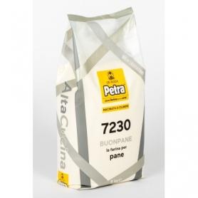 Farina 7230 per pane 5kg - Petra - Farina di grano e cereali
