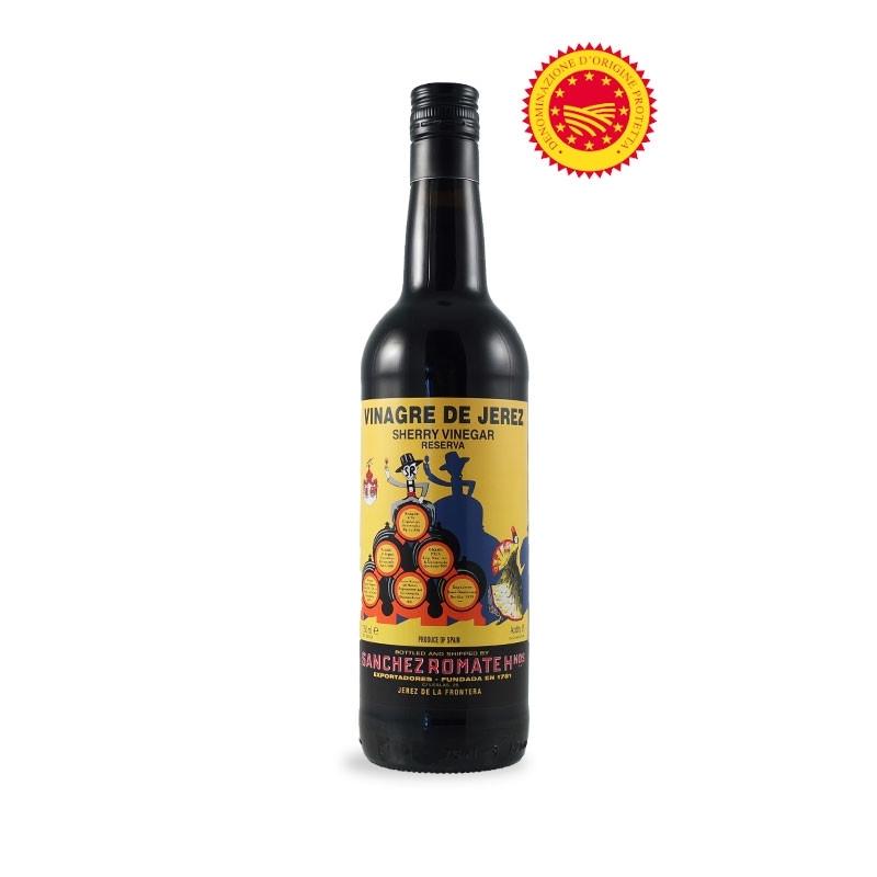 """Sherry """"Reserva"""" Vinegar - Vinagre de Jerez DOP, l. 0.75 - Bodegas Sanchez Romate Hermanos"""