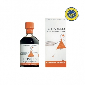 "Balsamic Vinegar of Modena IGP of the Tinello ""Etichetta Arancio"", 250 ml - Il Borgo del Balsamico"