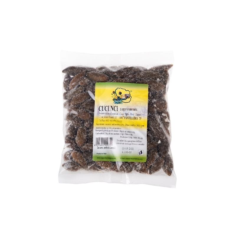 Cucunci (frutti del cappero), 500 gr - Cooperativa Agricola Produttori Capperi