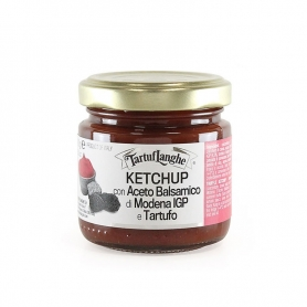 Ketchup with balsamic vinegar of Modena PGI and truffle, 100 gr - Tartuflanghe