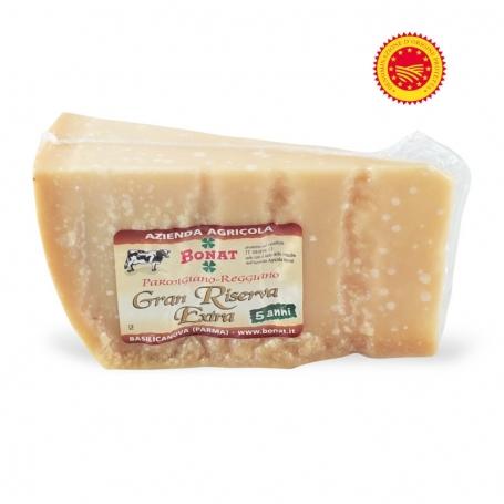 Parmigiano Reggiano PDO, seasoned 60 months - Az. Agr. Giorgio Bonati, ca 500 gr