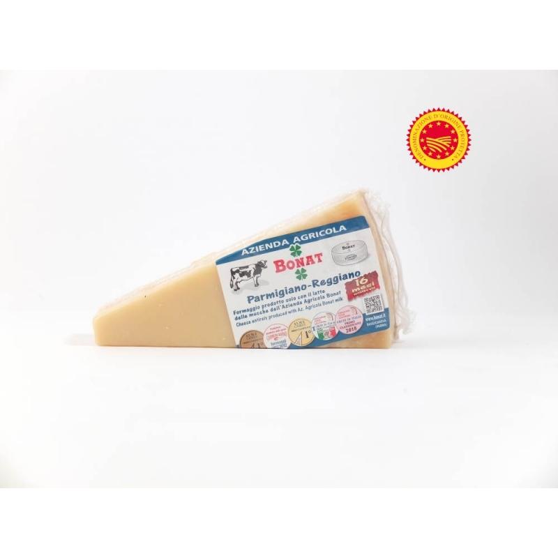 Parmigiano Reggiano PDO, seasoned 16 months - Az. Agr Giorgio Bonati, ca 500 gr
