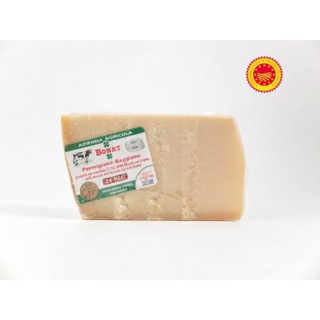 Parmigiano Reggiano DOP, gewürzt 24 Monate - Az. Agr Giorgio Bonati, 1kg