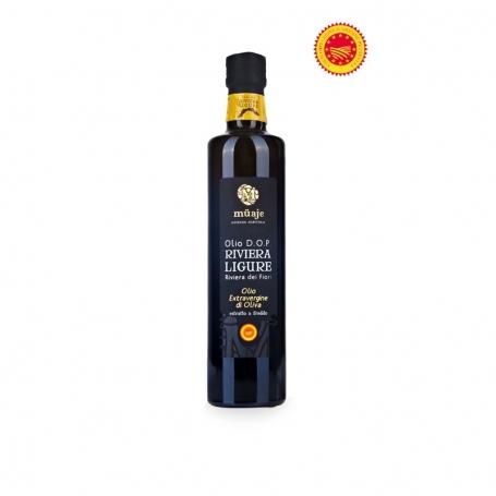 "Oil ""Riviera Ligure - Riviera des Fleurs"" PDO, l. 0.75 - Ferme MUAJE"