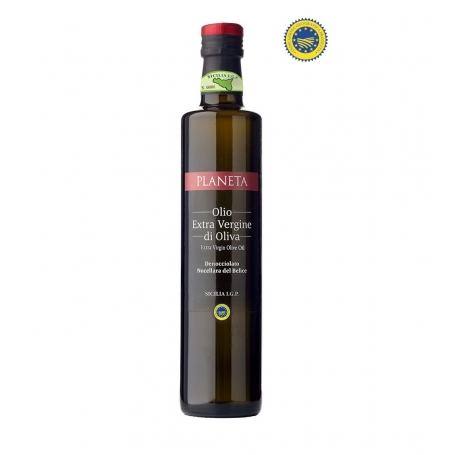 """Oil """"Denocciolato Nocellara"""" IGP Val di Mazara, die 0,50 - Az. Planeta - Olio extravergine di oliva"""