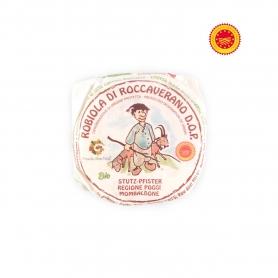 Robiola di Roccaverano DOP BIO, lait de chèvre, 250 gr. ca - Piémont