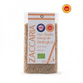 Rice Gladio Integrale Biologico DOP, 500 gr. - Zaccaria