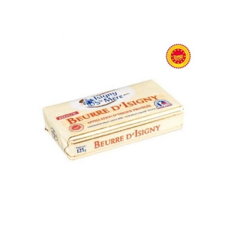 Extra soft butter from Normandy AOP, 125 gr - Beurre d'Isigny